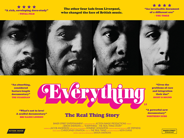 Everything - The Real Thing Story by Simon Sheridan poster