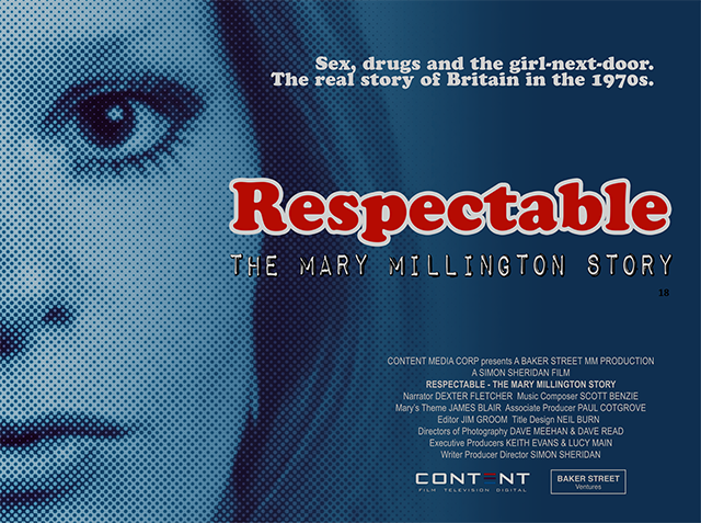 Respectable - The Mary Millington Story by Simon Sheridan poster